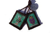 St.Michael brown scapular