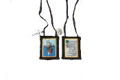 St.Christopher brown scapular